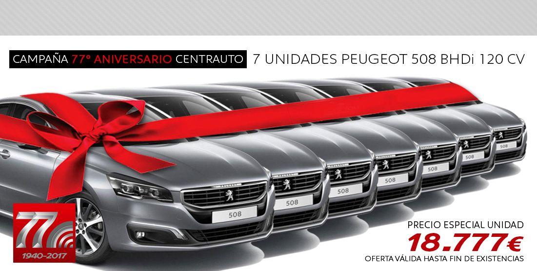 PEUGEOT 508 77ª ANIVERSARIO