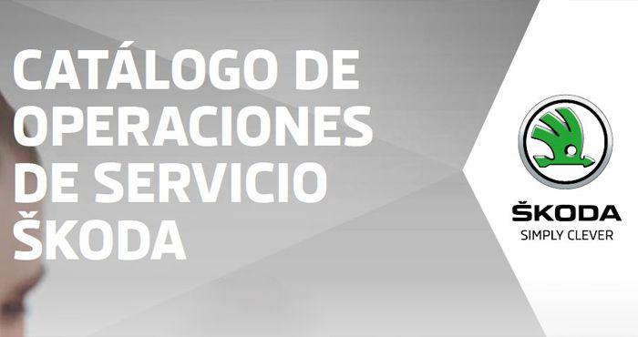 CATÁLOGO DE OPERACIONES DE SERVICIO 2017
