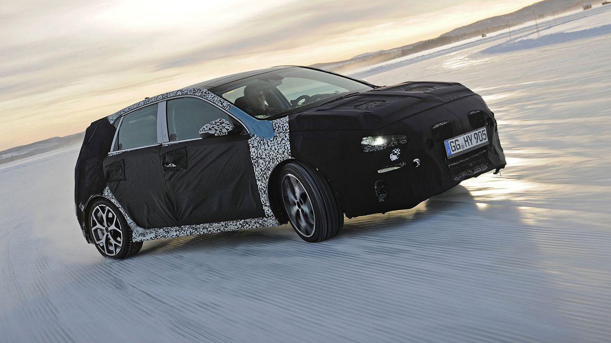 El Hyundai más potente de la marca podría ver la luz a mediados de año.