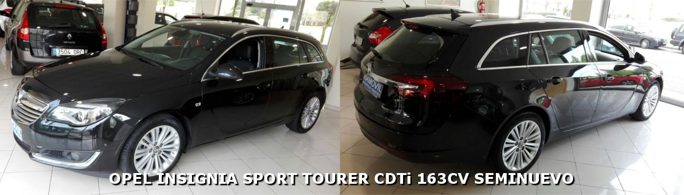 Opel Insignia Sport Tourer Excellence 163cv. Año 2015!!