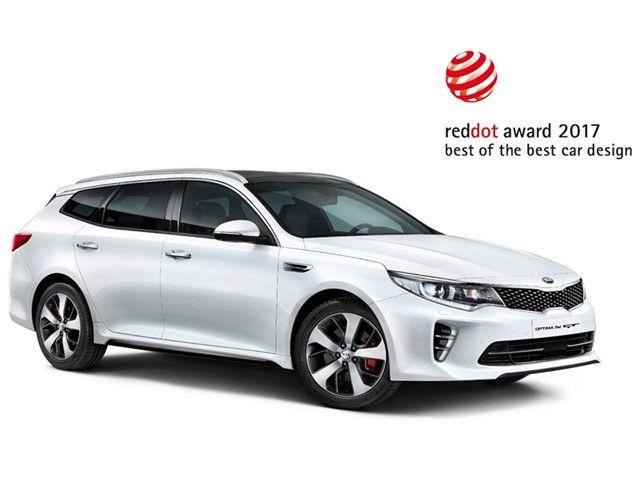 El Kia Optima Sportswagon recibe nuevamente un reconocimiento por su diseño en los premios Red Dot 2017