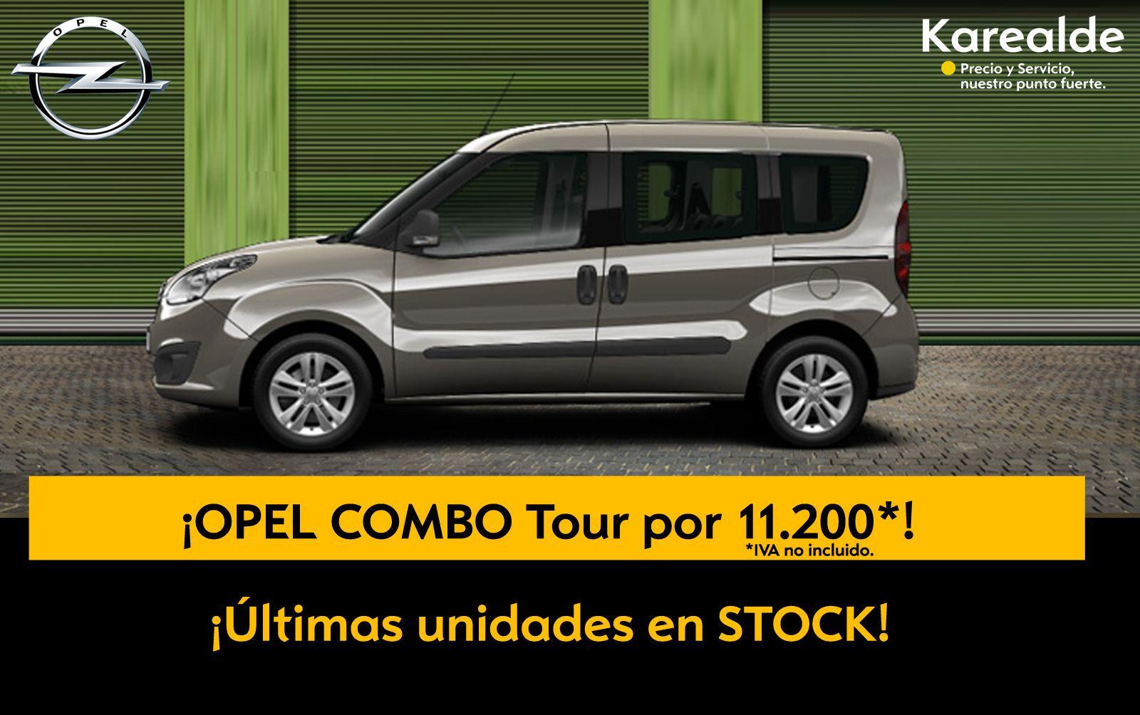 Opel COMBO TOUR- ¡Ultimas unidades en stock!