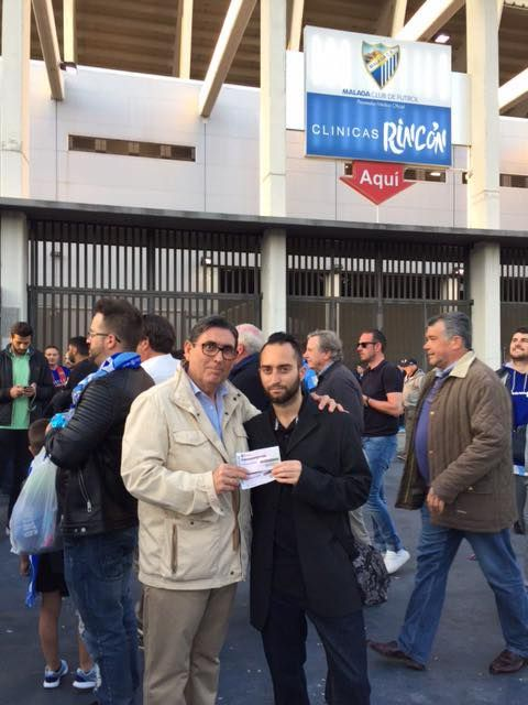 Sorteamos dos entradas para ver al Barça en la Rosaleda