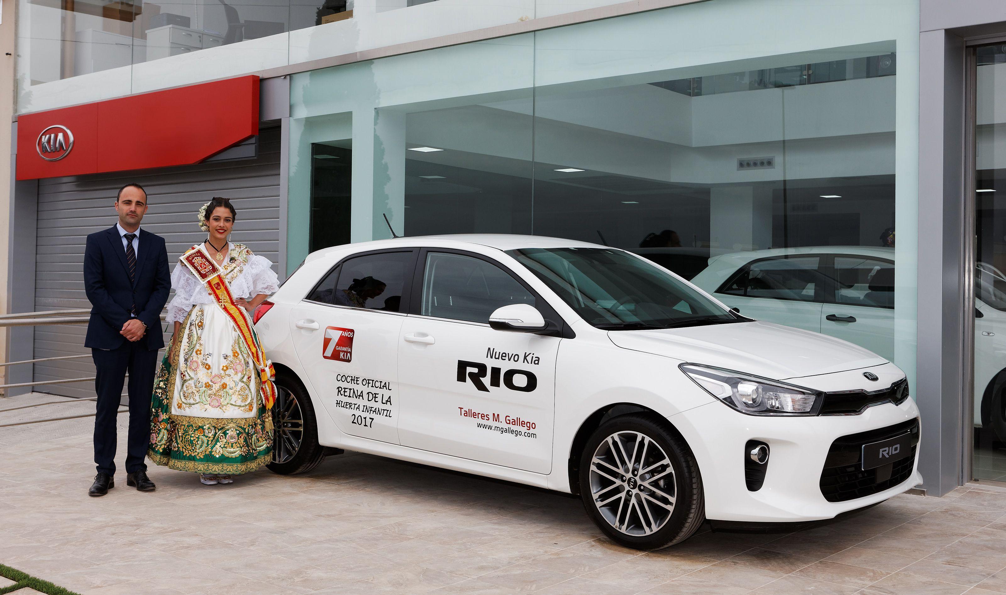 KIA coche oficial Reinas de la Huerta 2017