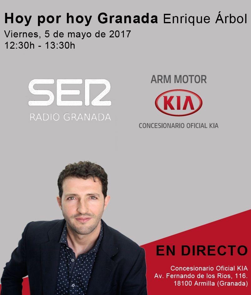 Hoy por hoy Granada en nuestras instalaciones de Armilla