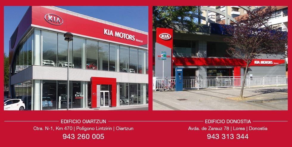 El KIA que estás buscando en Donostia y Oiartzun