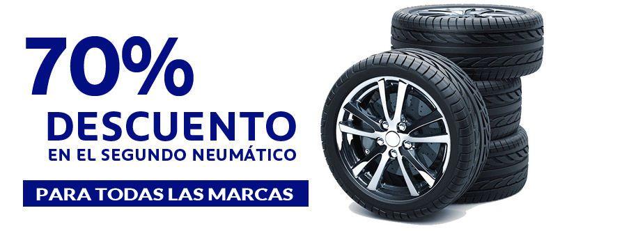 -70% Descuento en neumáticos