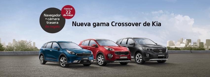 Nueva gama crossover de KIA
