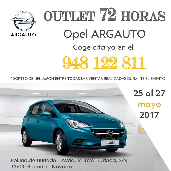 Outlet 72h Opel by Argauto