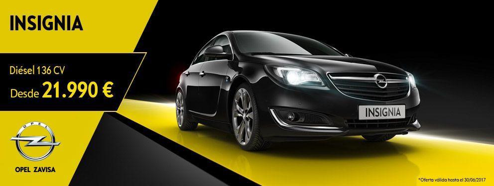AHORA o NUNCA ¡Es el momento perfecto para llevarte un Opel Insignia Innovate por 21.990€ con 6.000€ del equipamiento más tecnológico!