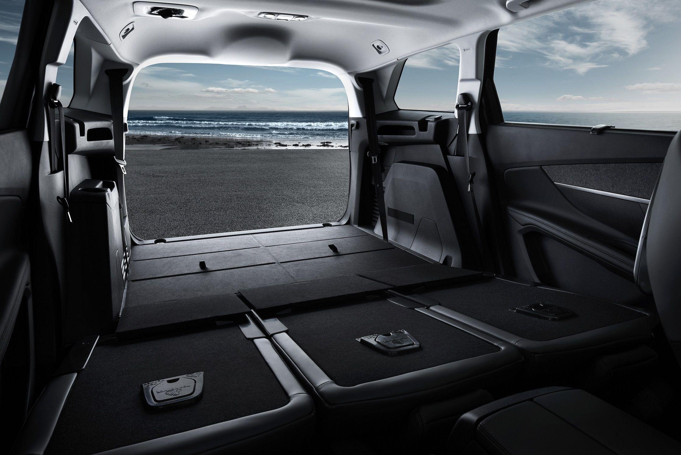 Peugeot 5008: confort, espacio y modularidad - Dispone del mayor maletero de su categoria con 780 litros