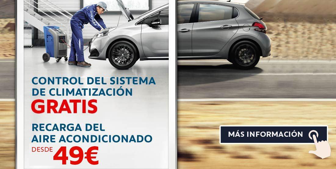 Peugeot Sevilla climatizacion