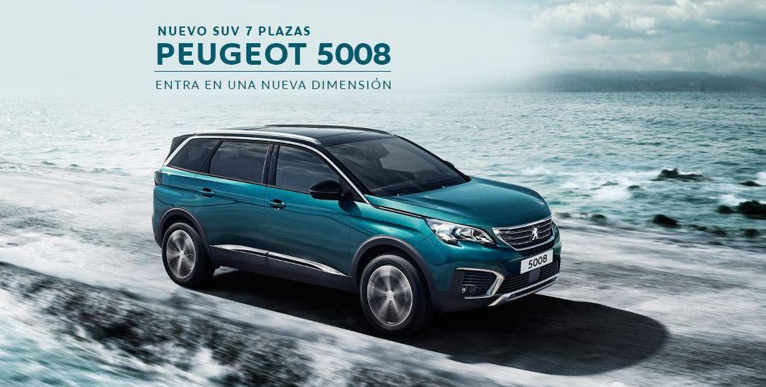 Nuevo Peugeot 5008 7 Plazas