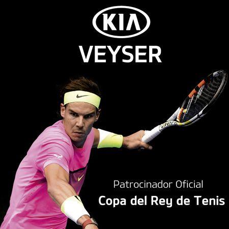Veyser, patrocinador oficial de la 92 edición de la Copa del Rey de Tenis
