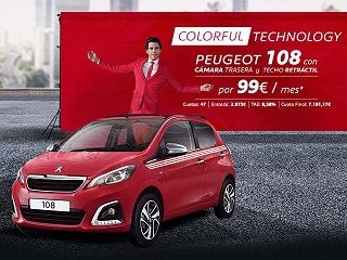 COLORFUL TECHNOLOGY PEUGEOT 108