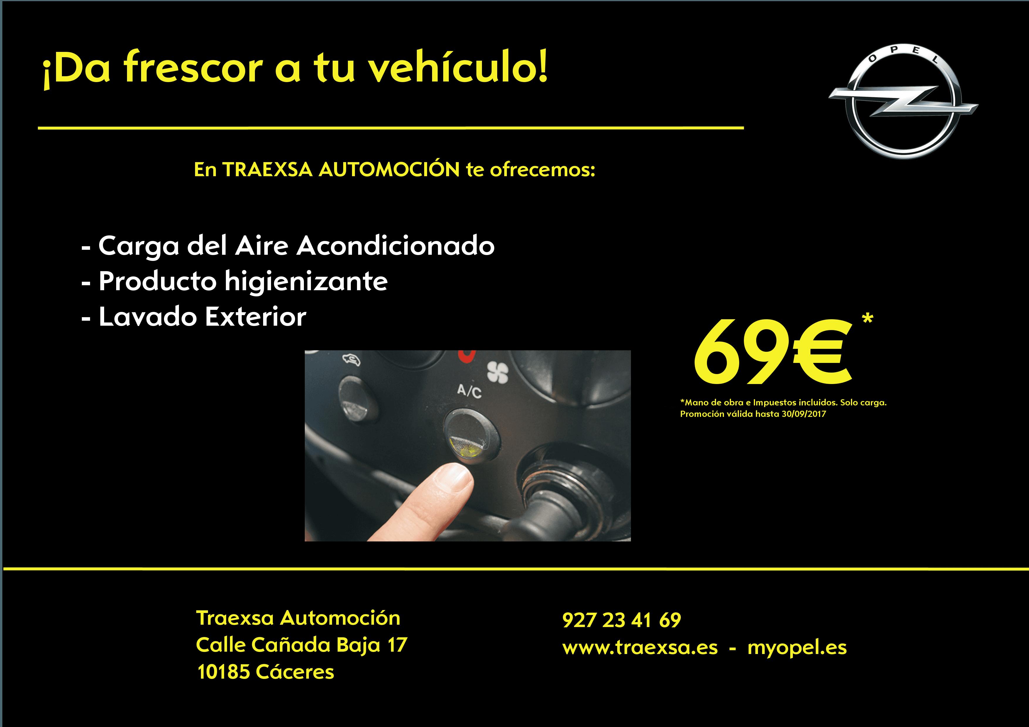 ¡DA FRESCOR A TU VEHÍCULO! Oferta carga aire acondicionado por 69€
