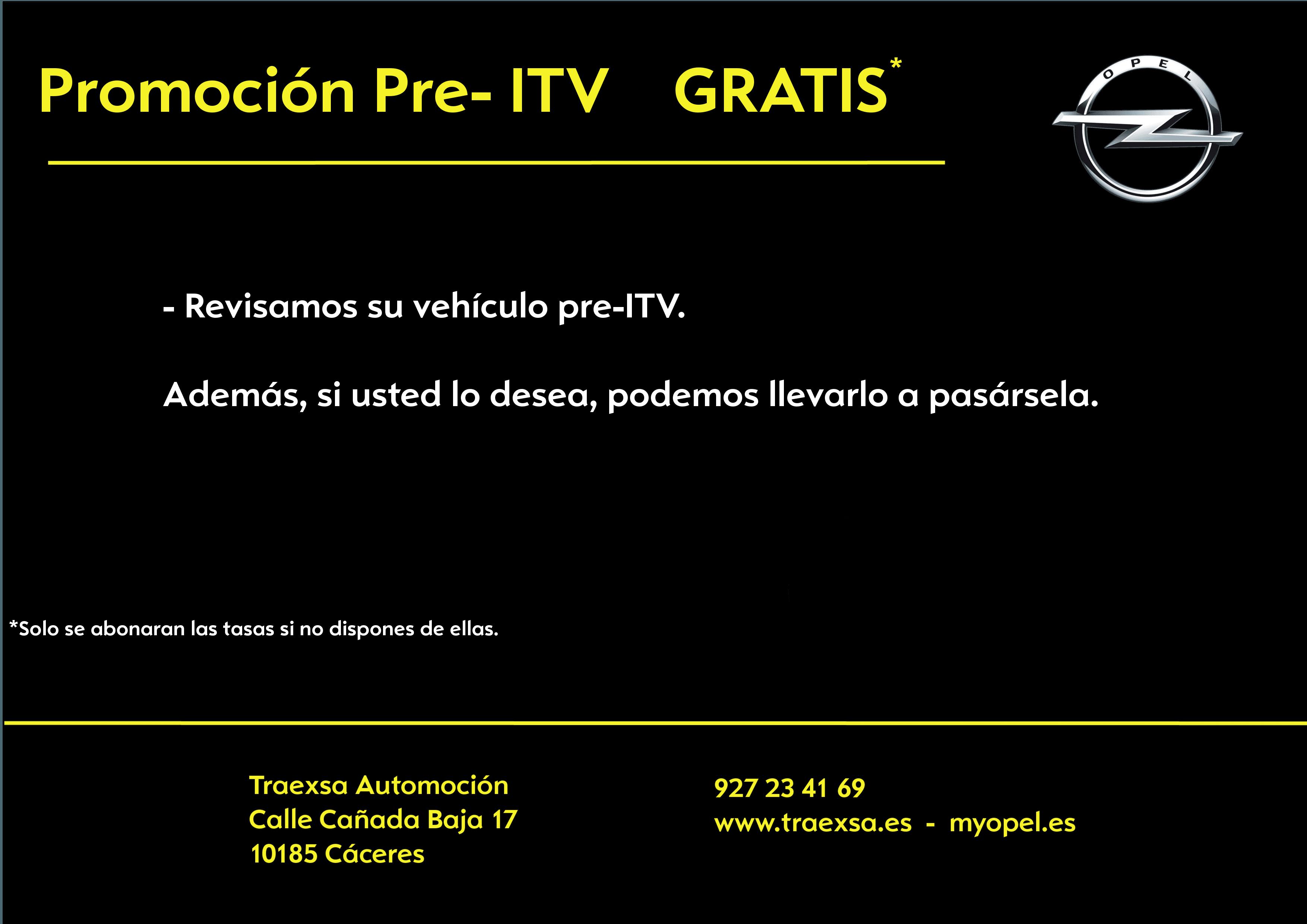 PRE-INSPECCIÓN ITV