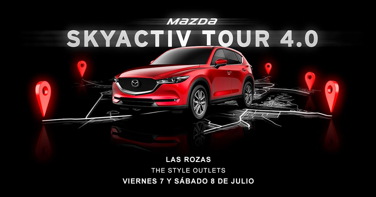 El SkyAvtive Tour 4.0 2017 llega este Julio a Las Rozas
