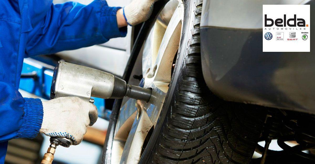Cambio de neumáticos en Quart de Poblet