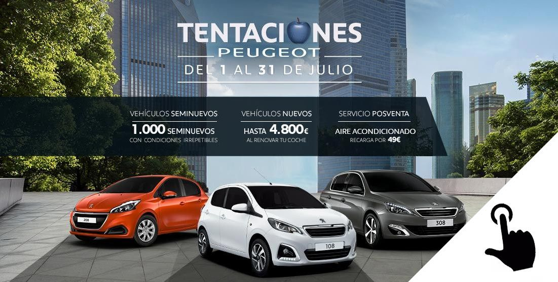 Peugeot Sevilla: tentaciones Peugeot