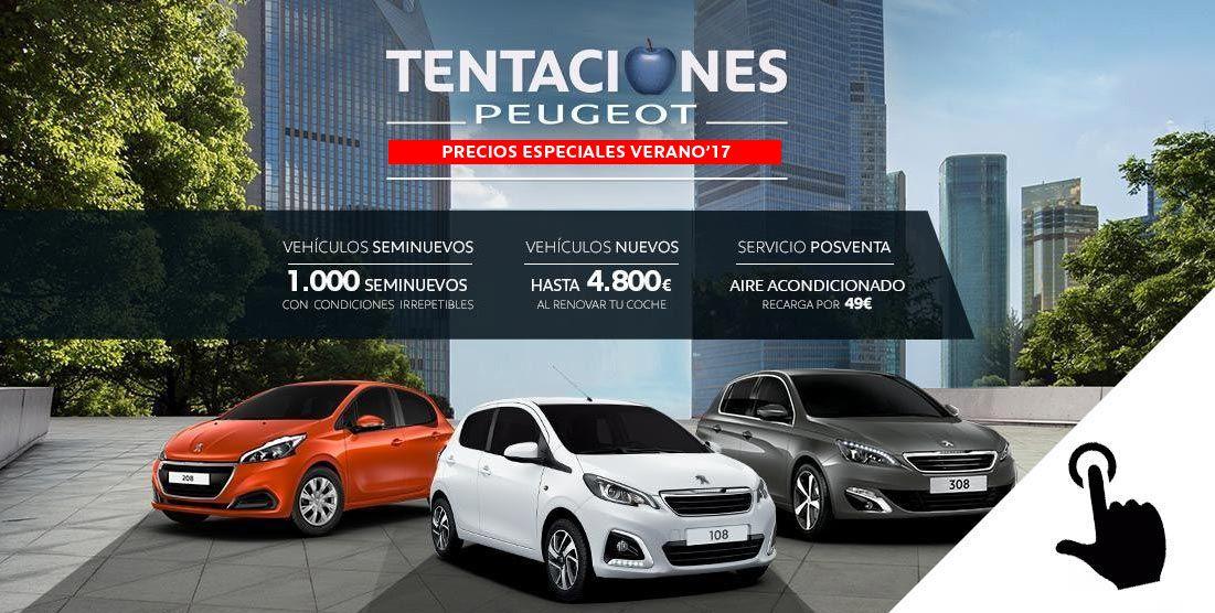 Descuento especiales 'Tentaciones Peugeot'