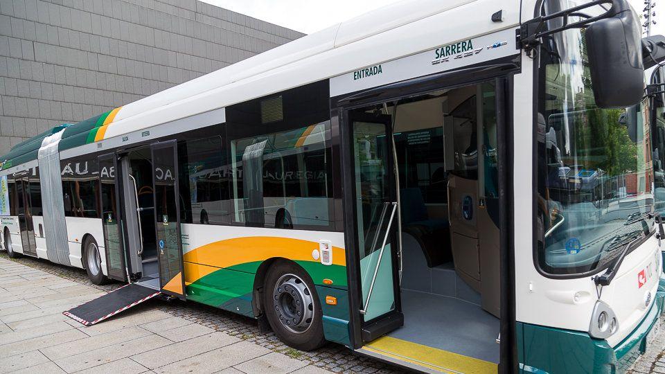 Seis Autobuses IVECO para la Mancomunidad de la Comarca de Pamplona