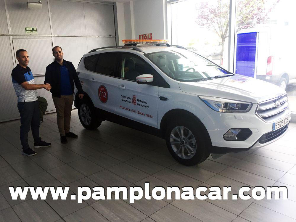 Entrega de Ford Kuga a Protección Civil de Navarra