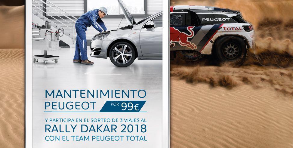 Mantenimiento Peugeot por 99€