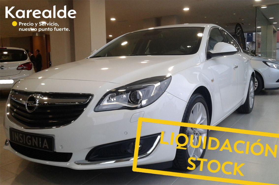 Liquidación stock Opel INSIGNIA. ¡ 4 últimas unidades!