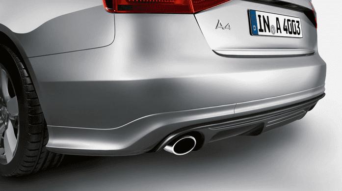 Difusor trasero Audi A4