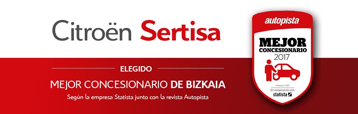 Sertisa ha sido elegido como mejor concesionario de Bizkaia según la revista Autopista
