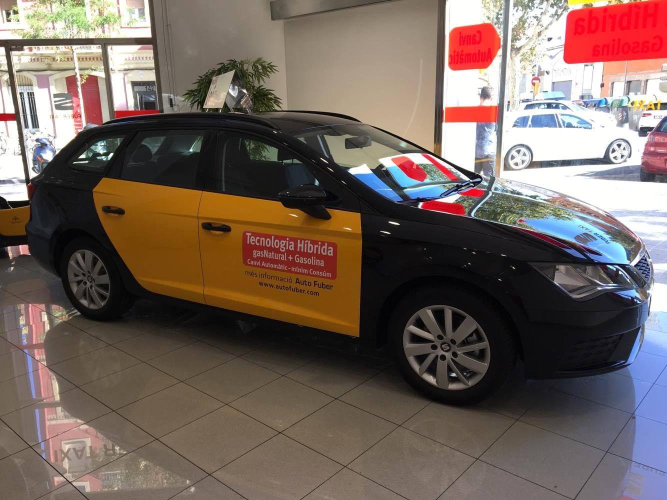 Nuevo Taxi Seat León ST GNC. ¡Resérvalo!