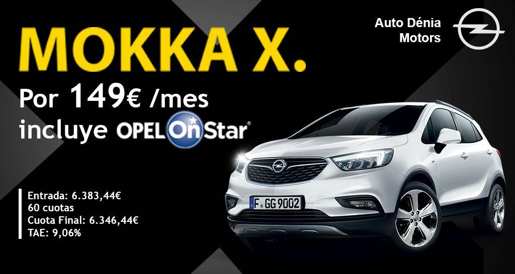 Opel Mokka por 149€ al mes