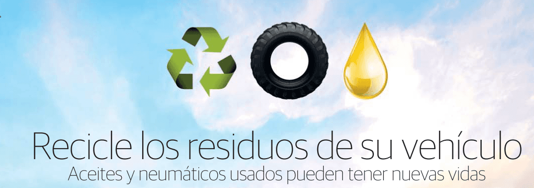 Recicle los residuos de su vehículo