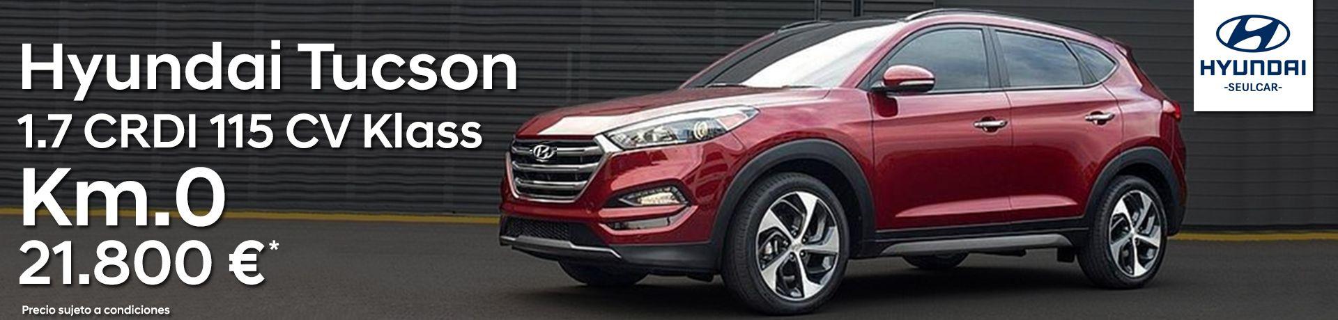¡Única unidad! Hyundai Tucson Klass 1.7 CRDI 115 cv Km.0