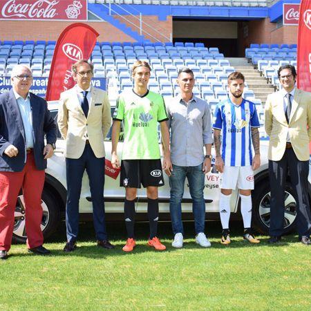 Veyser KIA, patrocinador oficial del Recreativo de Huelva