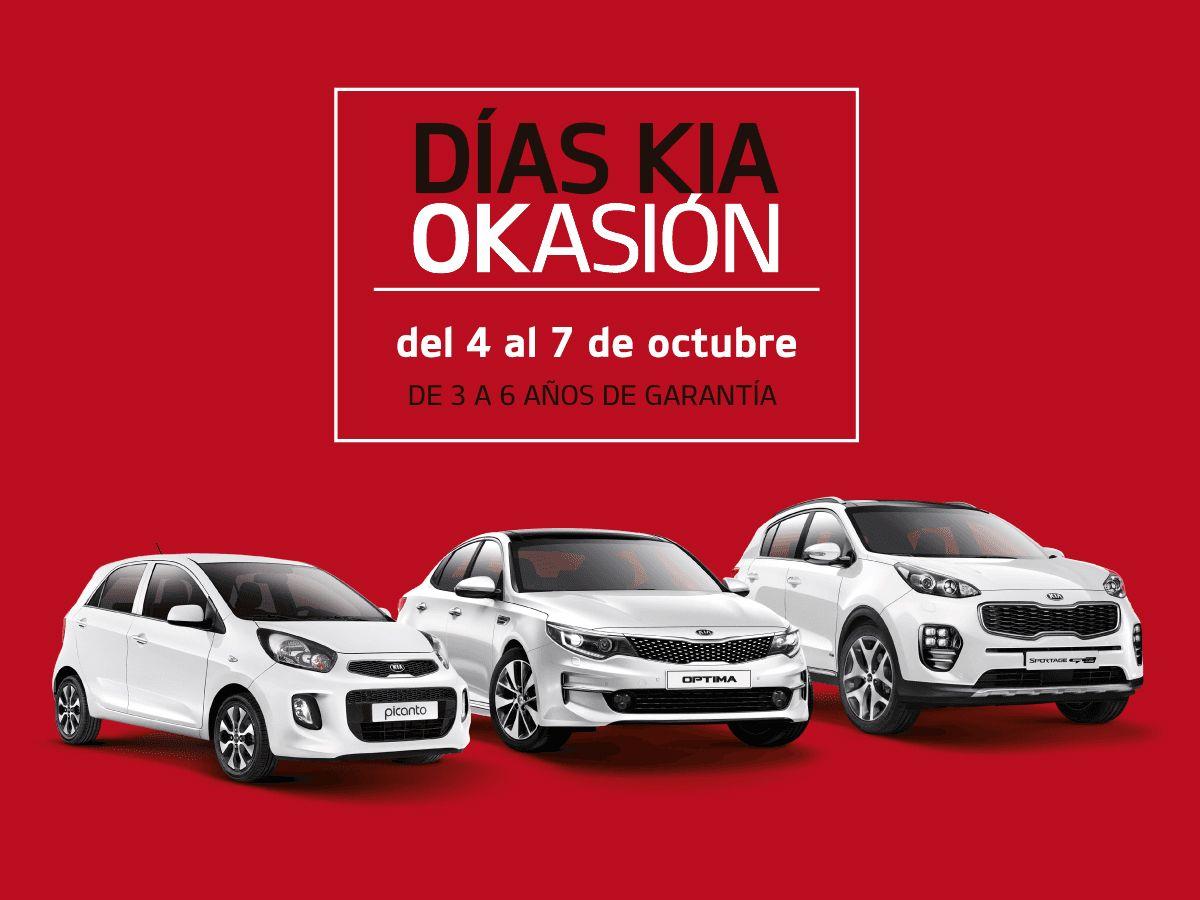 """Del 4 al 7 de octubre, llegan los """"Días Kia Okasión"""" a Kia Sakimóvil"""