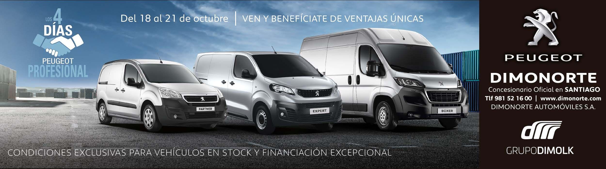 4 días Peugeot Profesional del 18 al 21 de Octubre