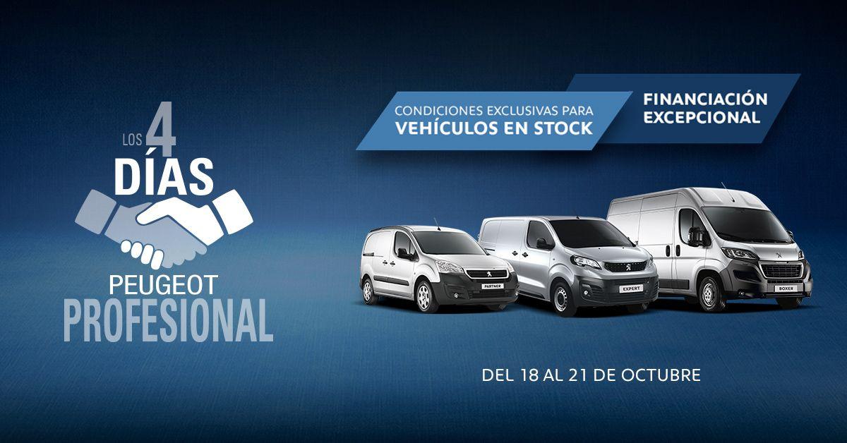 4 días Peugeot Profesional en DIMOLK del 18 al 21 de Octubre