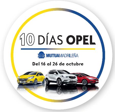 10 días Opel para Mutualistas.