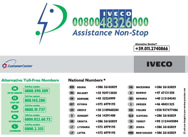 IVECO ASSISTANCE NON STOP