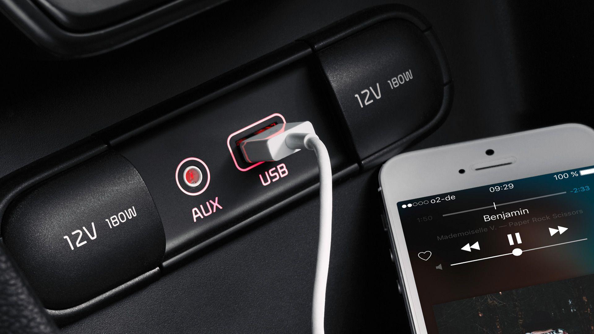 Las aplicaciones en el coche
