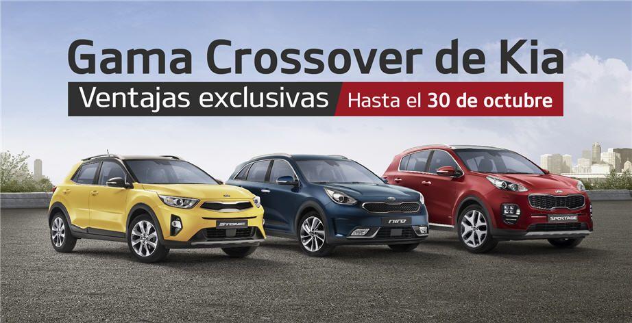 Aprovéchate en Kia Sakimóvil de las ventajas en la gama crossover de Kia hasta el 30 de octubre