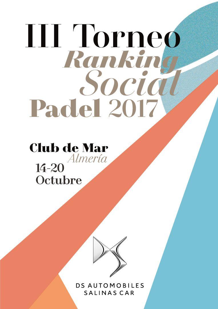 DS Salinas Car patrocinador oficial del III Torneo de Ranking Pádel del Club de Mar Almería