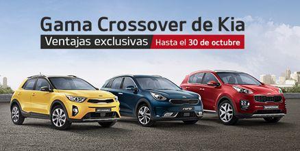 Descubre la gama crossover de Kia y sus ventajas hasta el 30 de Octubre