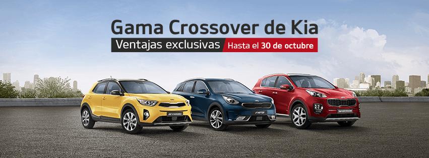 Ventajas Exclusivas en la Gama Crossover KIA