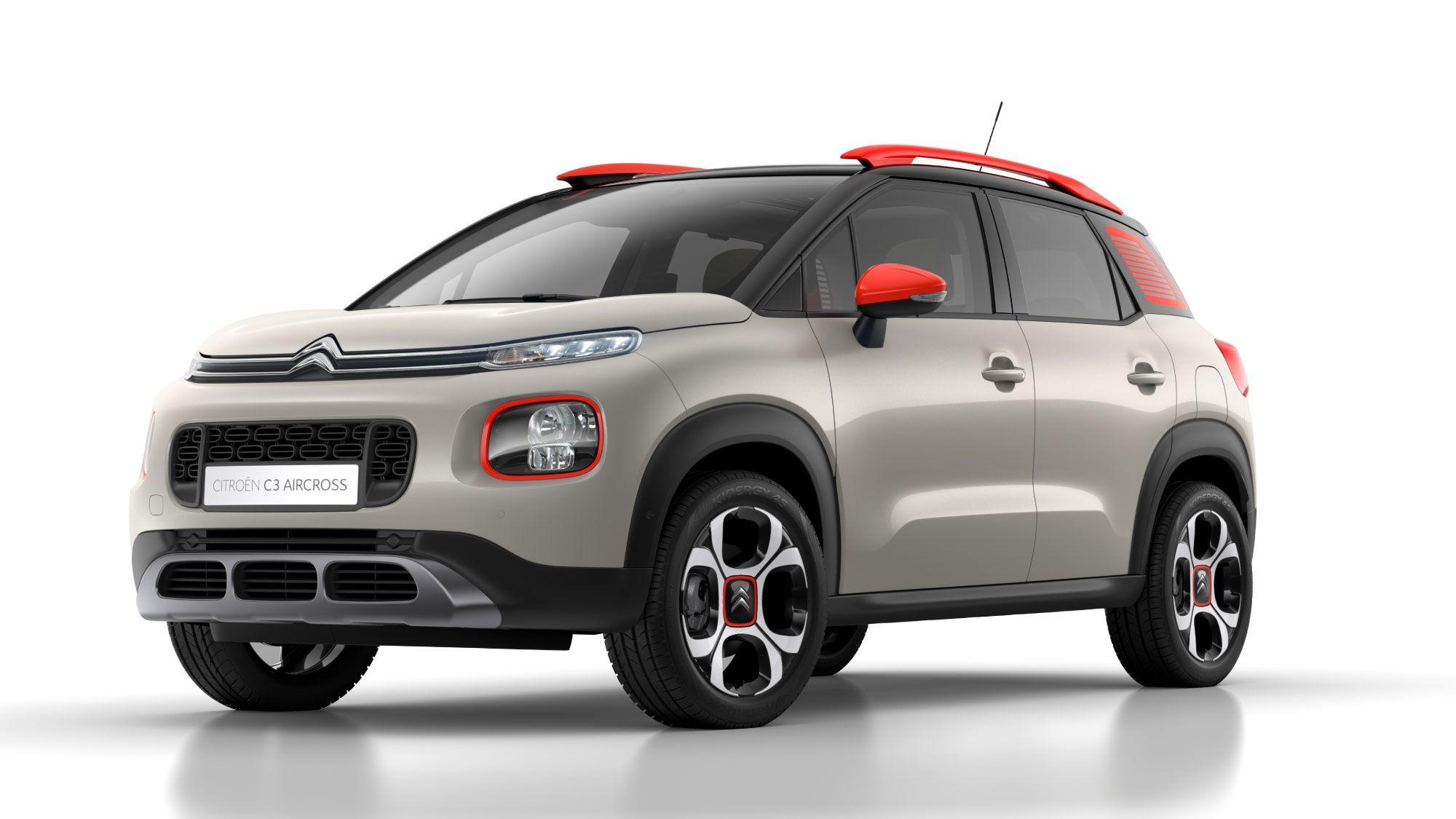 El nuevo SUV Compacto Citroën C3 Aircross, finalista del Premio Autobest 2018